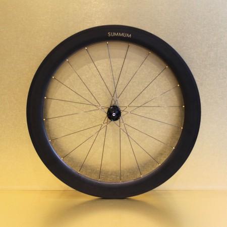Paire de roues carbone route 60 mm