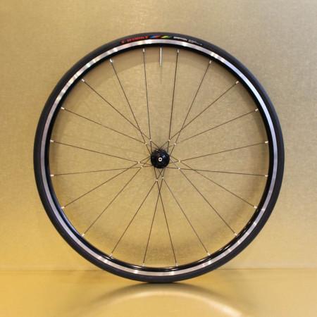 Paire de roues en aluminium 24 mm pour vélo de route