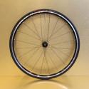 Paire de roues alu montagne 22 mm