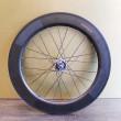 Paire de roues carbone piste 80 mm