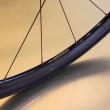 Paire de roues aluminium aéro 30 mm pour vélo de route